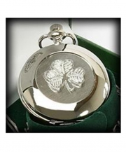 Shamrock Pocket Watch