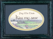 Pog Mo Thoin - 5x7 Blessing - Oval Green Frame