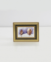 Pope Francis I Framed Watercolor Print 5x7