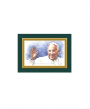 Pope Francis I Watercolor Print 5x7