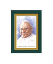 Pope Saint John XXIII  Watercolor Print 5x7