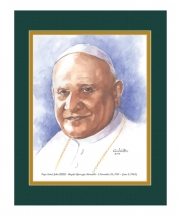 Pope Saint John XXIII  Watercolor Print 11x14