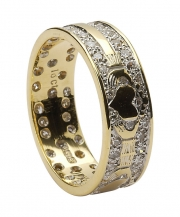 wed5-ladies-diamond-pave-claddagh-band