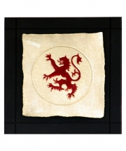 Scottish Lion Parchment Wall Tile