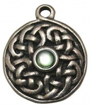 Sidhe Knot Pewter Necklace