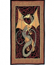 red-english-dragon-tapestry