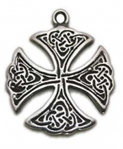 St. Patrick Pewter Necklace