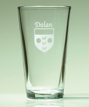 Irish Coat-of-Arms Pint Glasses - Set of 4