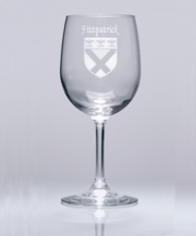 Coat-of-Arms Wine Glass - set of 4 glasses