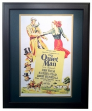 The Quiet Man - Matted and Framed Print