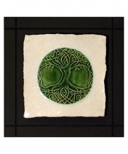 Tree of Life Parchment Wall Tile