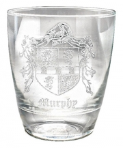 Coat of Arms Whiskey Glass - 10oz