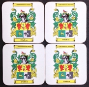 White Coat of Arms Coasters