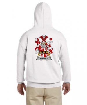 Coat of Arms Hooded Sweat Shirt (Full Back)