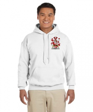 Coat of Arms Hooded Sweat Shirt (Left Chest)