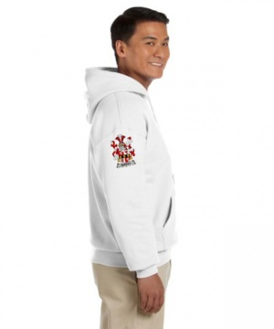 Coat of Arms Hooded Sweat Shirt (Right Arm)
