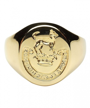 Ladies Oval Seal Ring