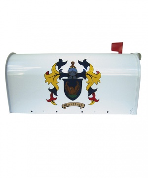 Coat of Arms Mailbox