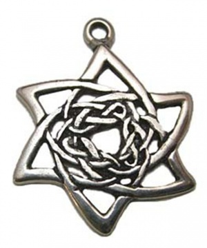 Shape Shifters Pewter Necklace